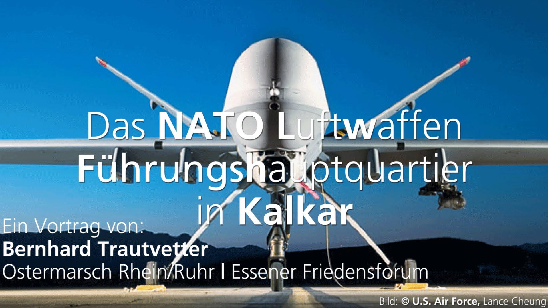 Das NATO Luftwaffen Führungshauptquartier in Kalkar