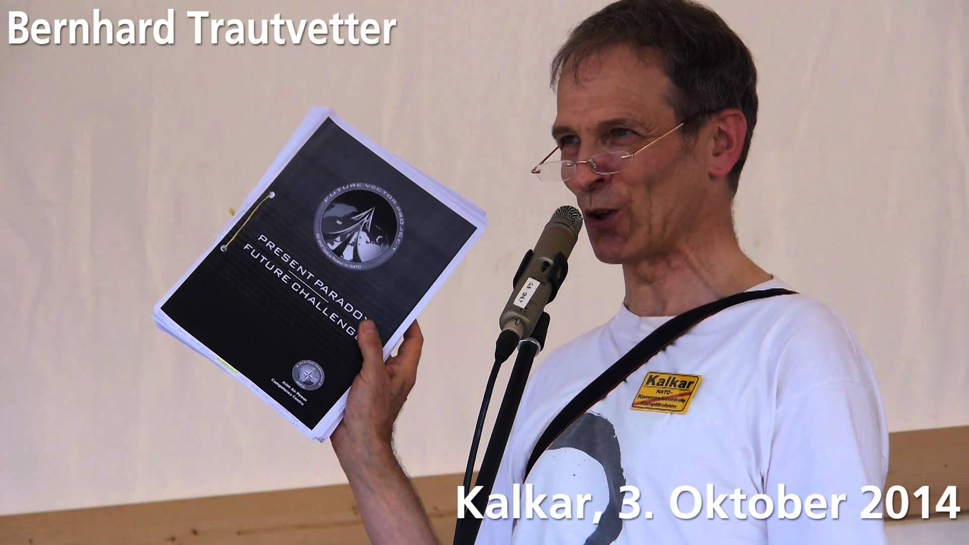 Rede Bernhard Trautvetter – 03.10.2014 Kalkar
