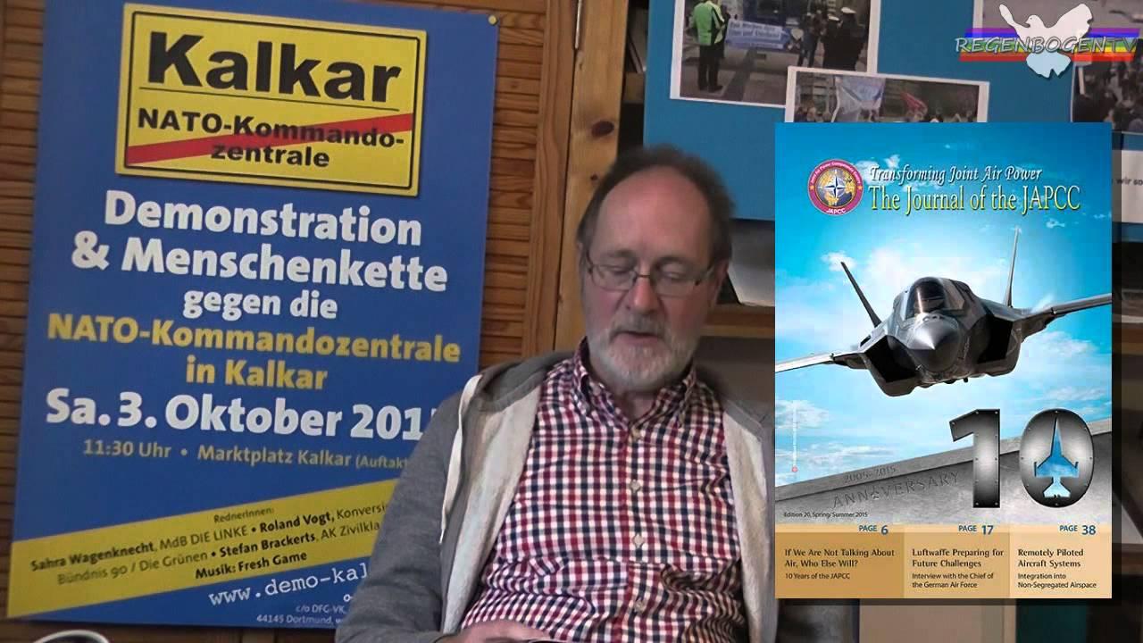 Videoaufruf von Joachim Schramm (DFG-VK NRW)