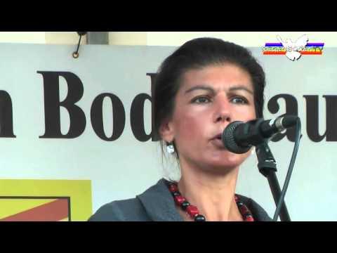 Rede von Sahra Wagenknecht in Kalkar – 03.10.2015