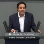 Niema Movassat im Bundestag gegen die Ausweitung des Mali-Einsatzes