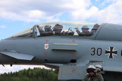 Bundeswehr-Jets erneut im Baltikum