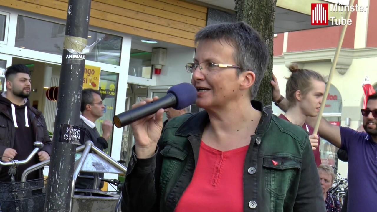 """Rede von Kathrin Vogler in Münster """"Frieden für Afrin"""""""